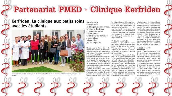 partenariat PMED - Clinique Kerfriden