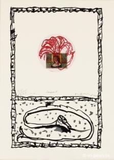 Alechinsky, Serpent, 1977 (3)