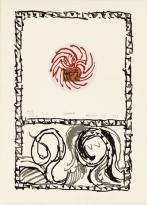alechinsky- Serpent, 1977