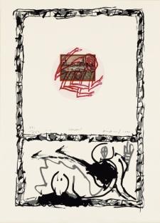 alechinsky- Serpent, 1977 (2)