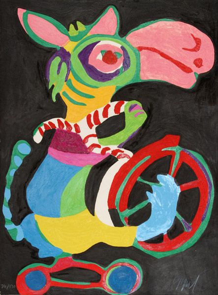Karel Appel, Circus, 1978