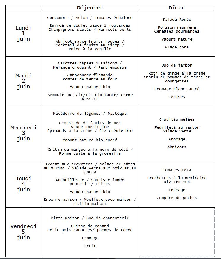 menu 1juin